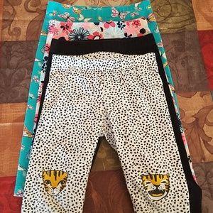 Other - 4 pack girl's capri leggings